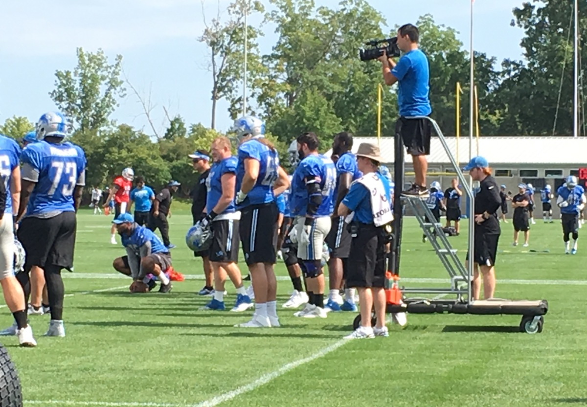 Five to watch in Lions preseason game against the Jets on Saturday
