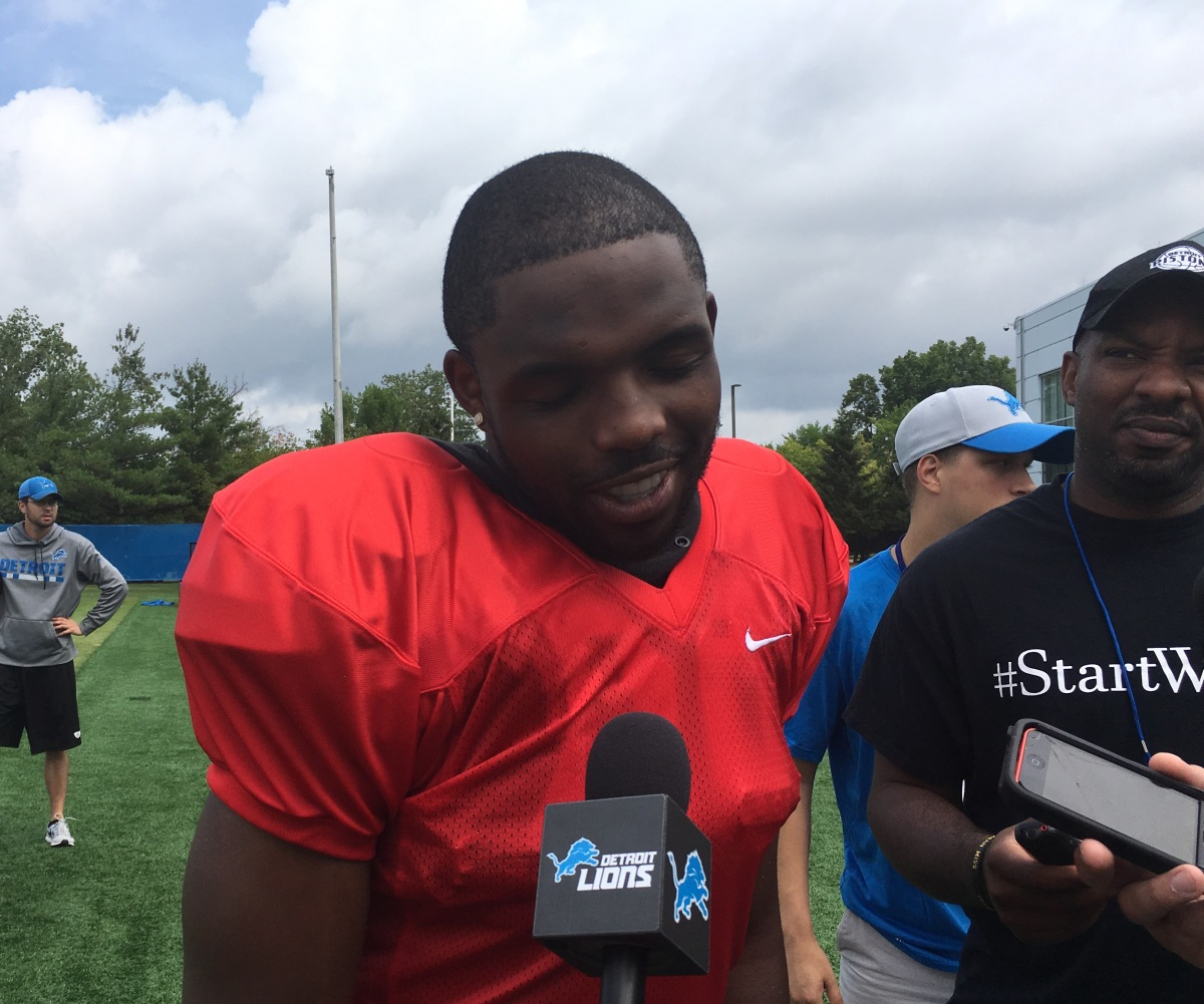 Five things to know about Lions' Theo Riddick who is on his way back