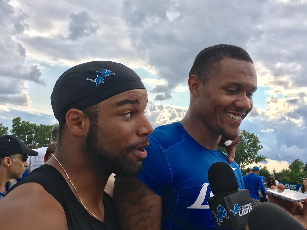 Five things to know from Lions' training camp on Golladay, Abdullah, Riddick, Tabor, Slay and Sam Martin