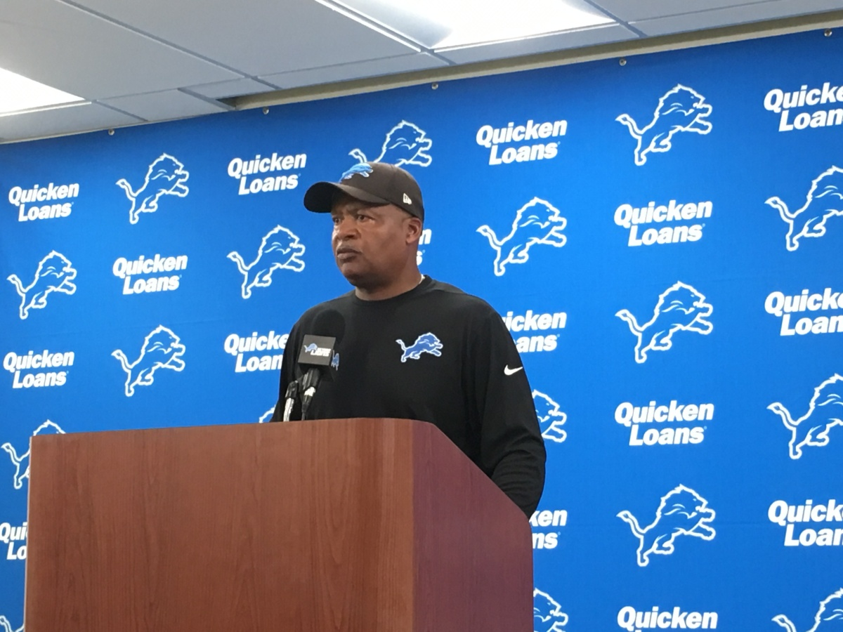 Detroit Lions' Jim Caldwell on run game, adjustments, his contract and more