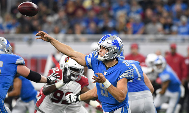 Matthew Stafford's leadership on display once again in Detroit Lions win