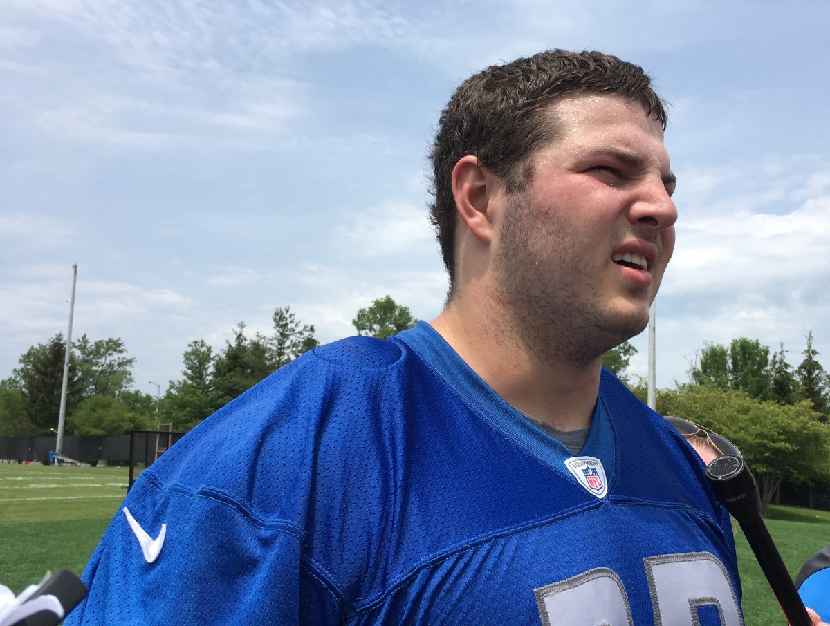 Detroit Lions sign veteran G Tim Lelito, place Joe Dahl on injured reserve