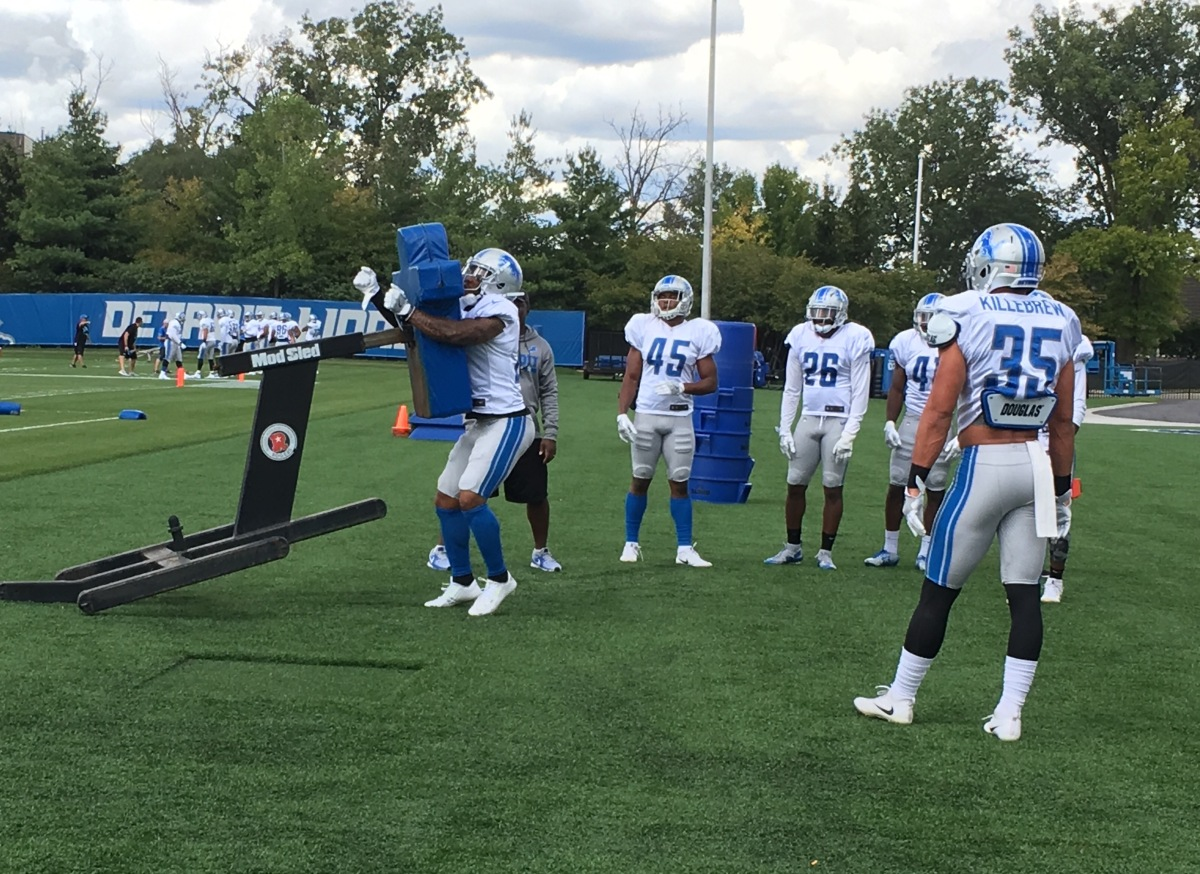 Five young Detroit Lions to watch vs. Giants on Monday night