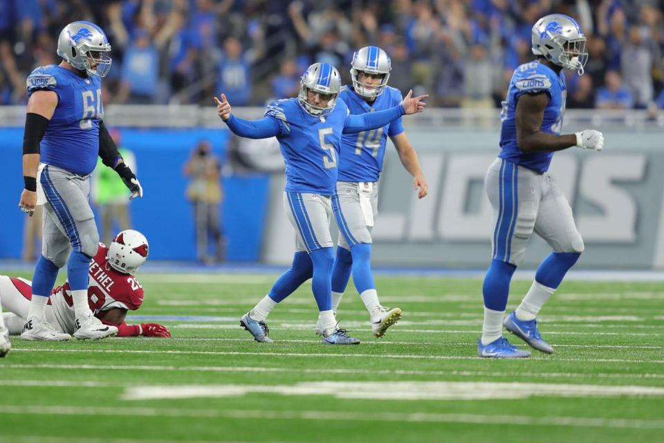 Detroit Lions' kicker Matt Prater named NFC special teams player of month