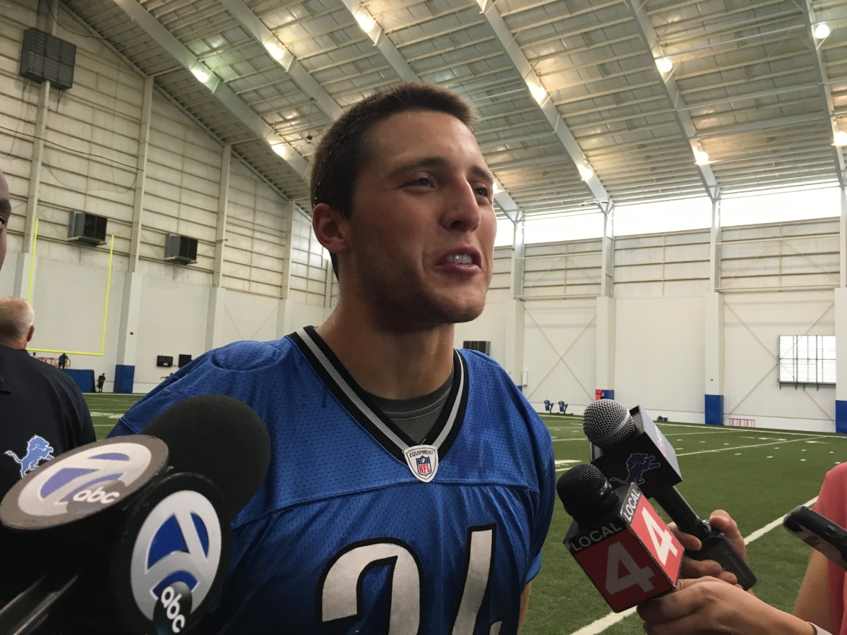 Zach Zenner ready to go for Detroit Lions after sitting for first 2 weeks