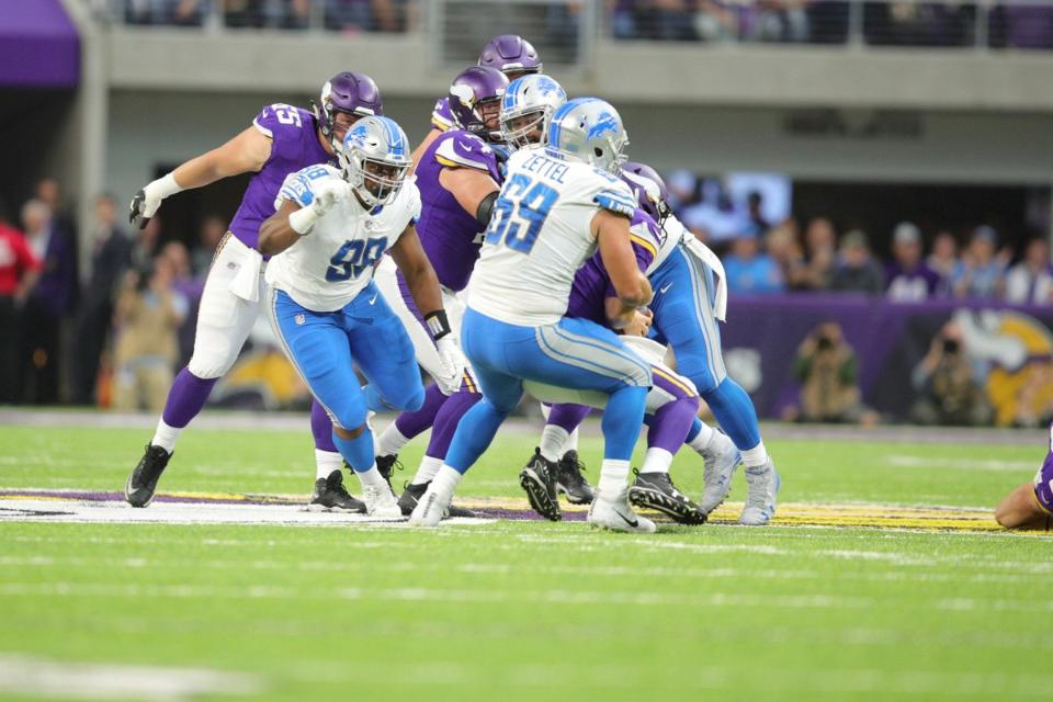 Five things to know about Detroit Lions' 14-7 win over the Vikings