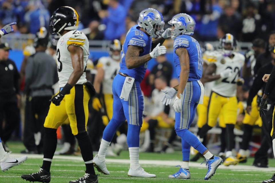 Lions Jim Caldwell on Eric Ebron: 'We've got to get the best out ofhim'