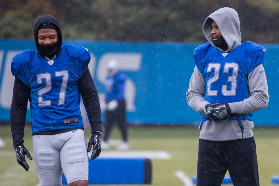Detroit Lions: Darius Slay's development clear to see, thanks to Glover Quin