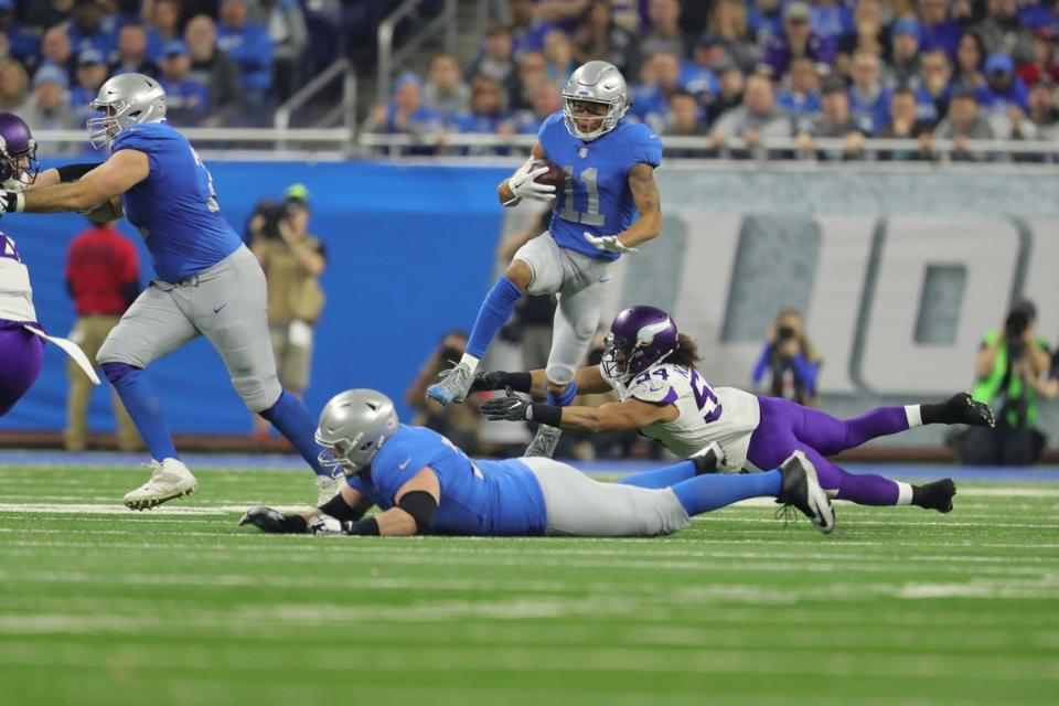 Five reasons the Detroit Lions lost 30-23 to theVikings