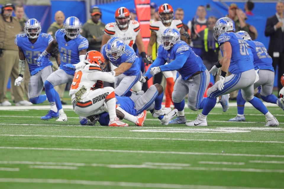 Five things to know about Lions defense as it prepares to face theBears