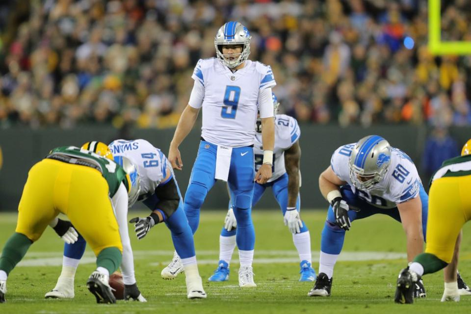 Five things to watch as Lions play at TampaBay
