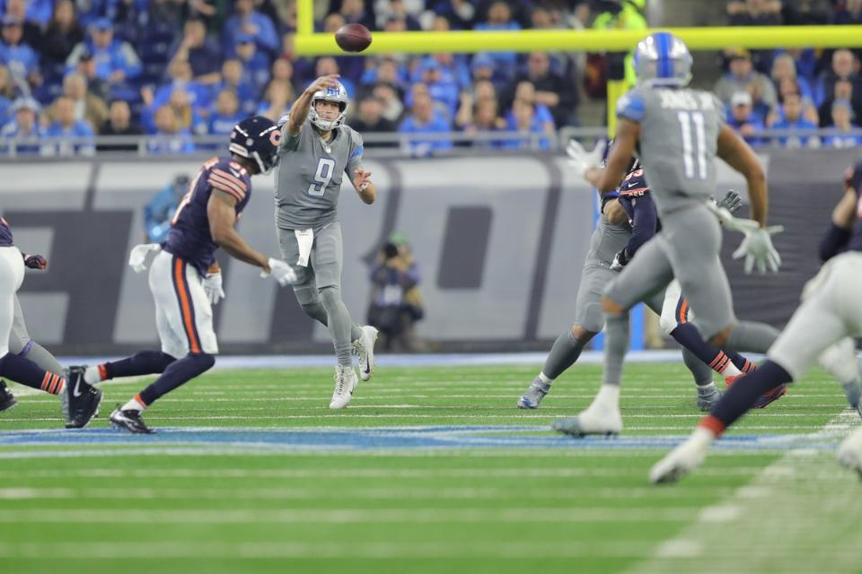 Five reasons the Detroit Lions beat the Chicago Bears, 20-10