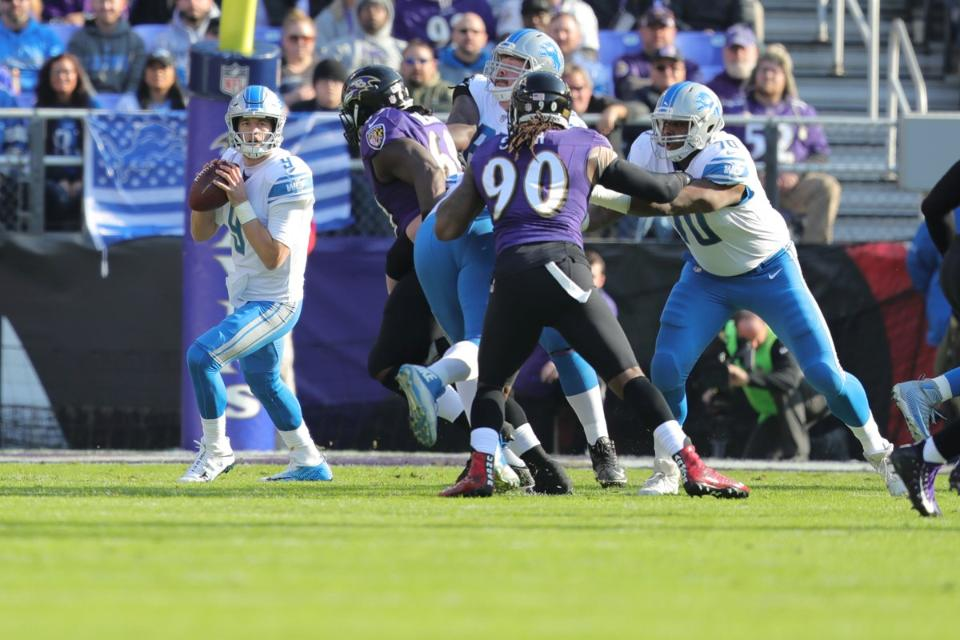 Five reasons Lions lost 44-20 toRavens
