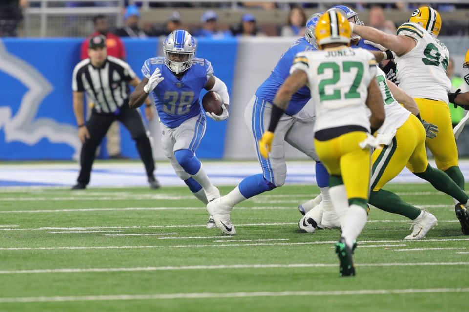 Lions RB Tion Green thankful that Jim Caldwell had a plan, gave him a chance
