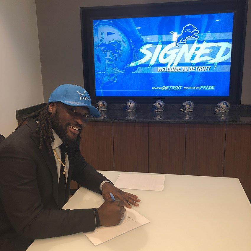 Lions sign veteran RB LeGarretteBlount