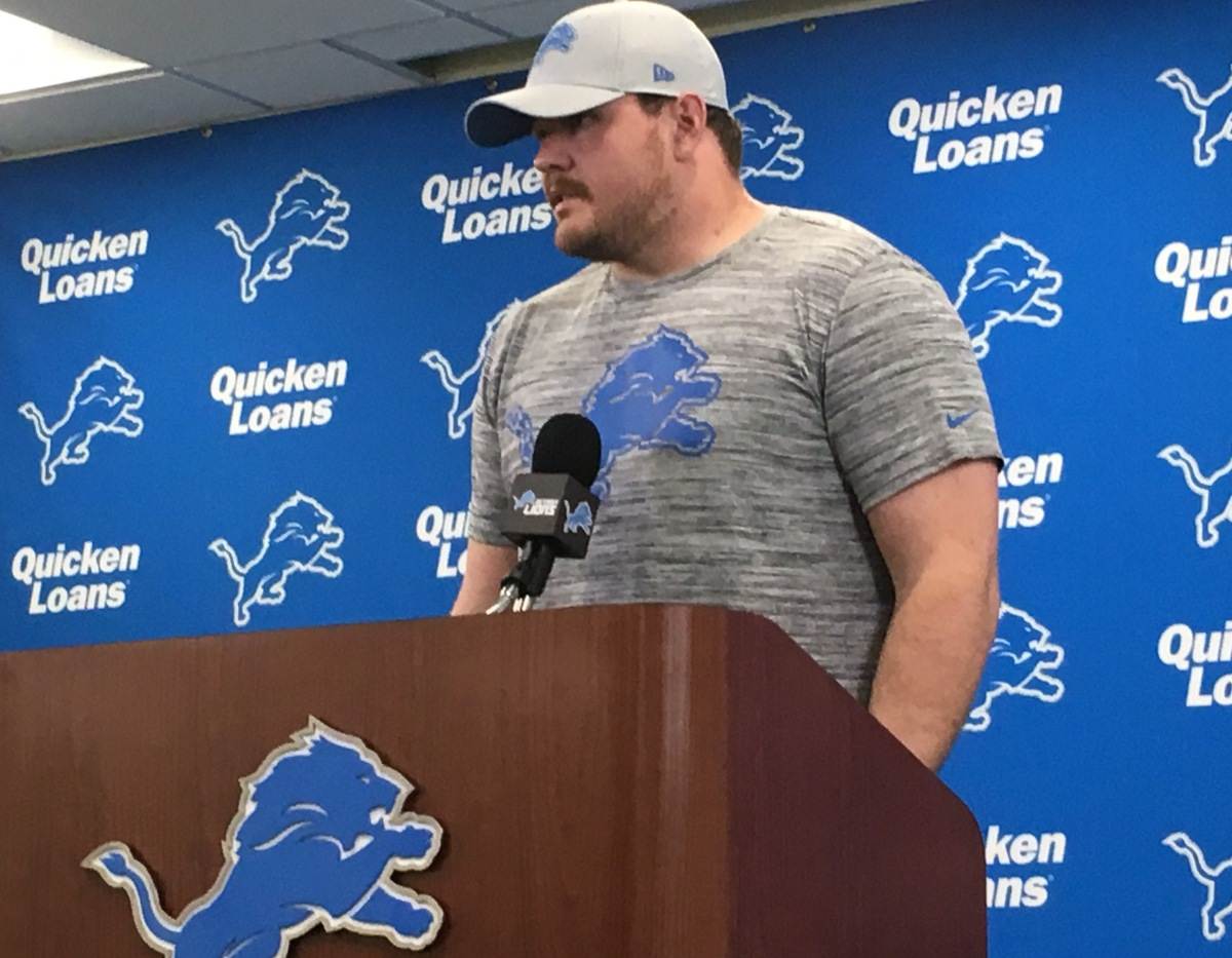 Five thoughts from Detroit Lions O-lineman GrahamGlasgow