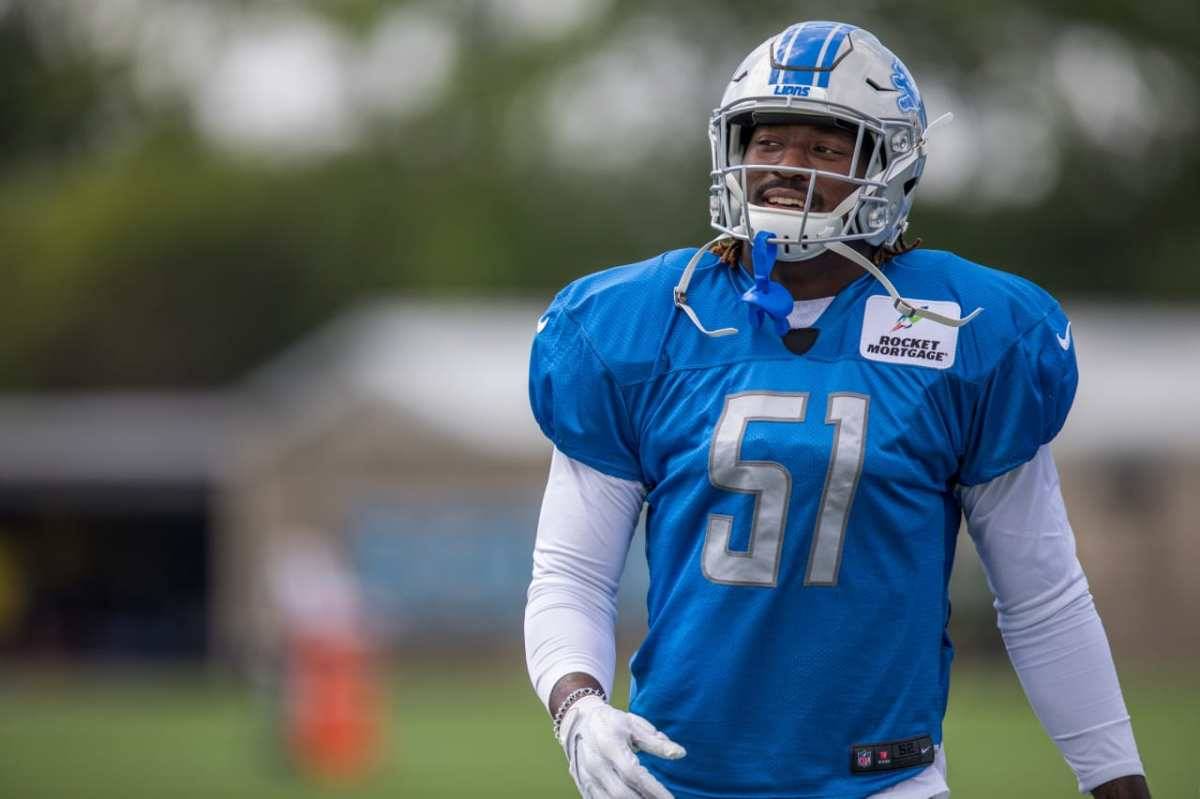 Lions newest LB Eli Harold excited for opportunity after trade from49ers