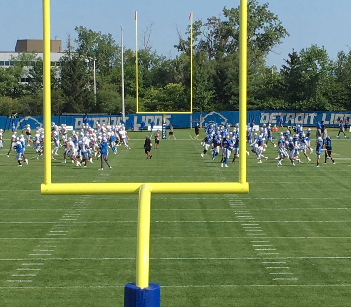 Lions training camp: Five things to look for in workouts with the Giants