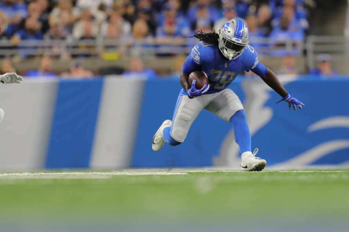 Lions run game shows steady gains week to week; Matthew Stafford improves too