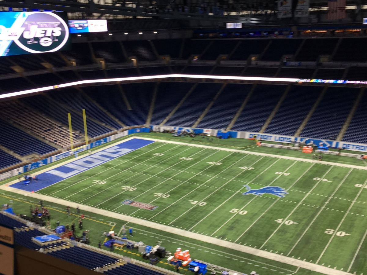 Detroit Lions inactives include          Ameer Abdullah, A'ShawnRobinson