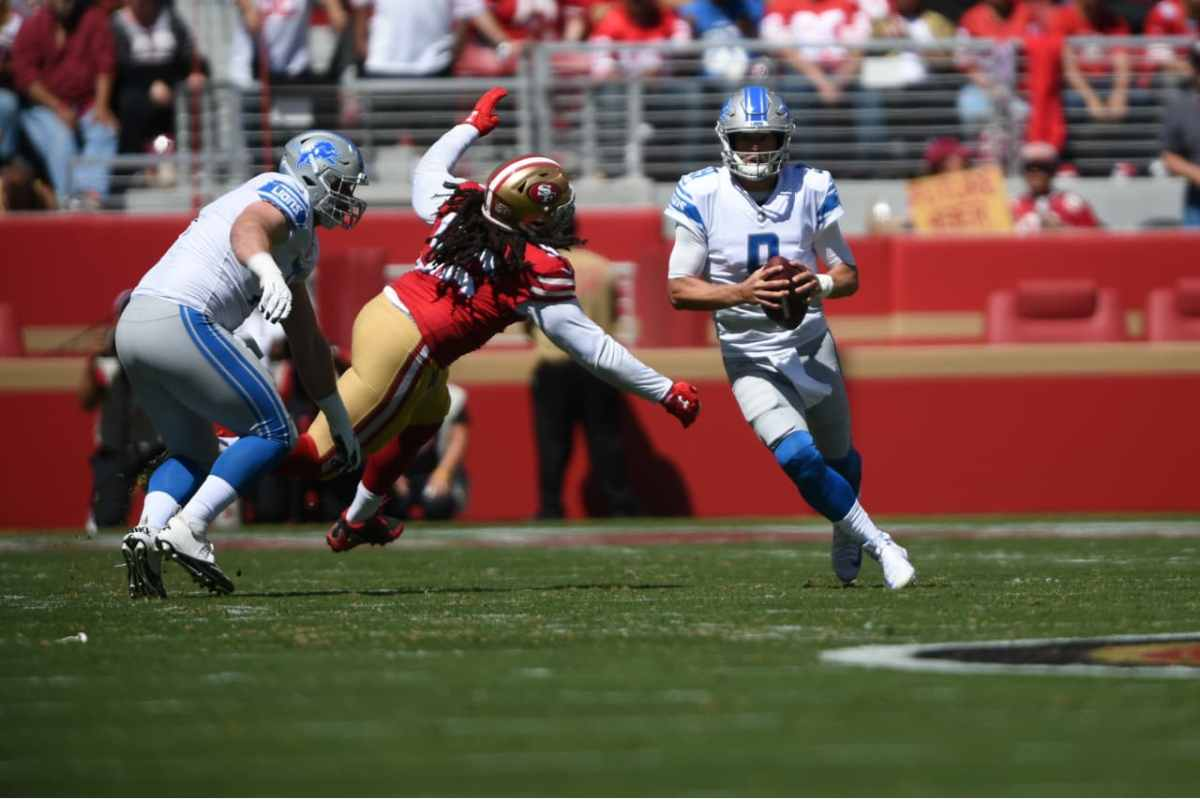 Detroit Lions, Matthew Stafford, San Francisco 49ers