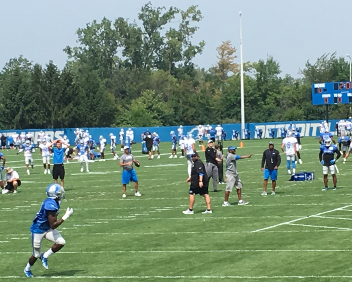 Detroit Lions make cuts, release initial 53-man roster