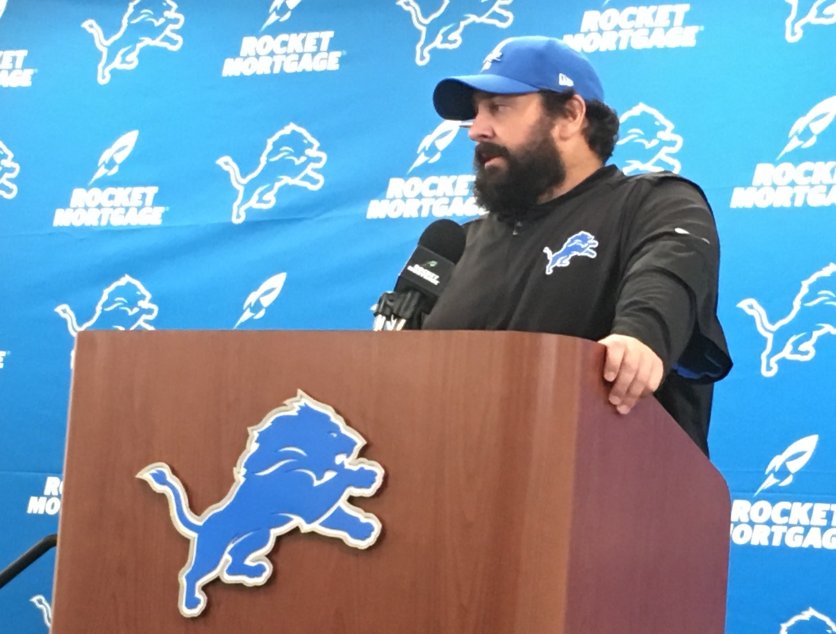 Sunday's game puts Lions' Matt Patricia and Patriots' Bill Belichick in spotlight