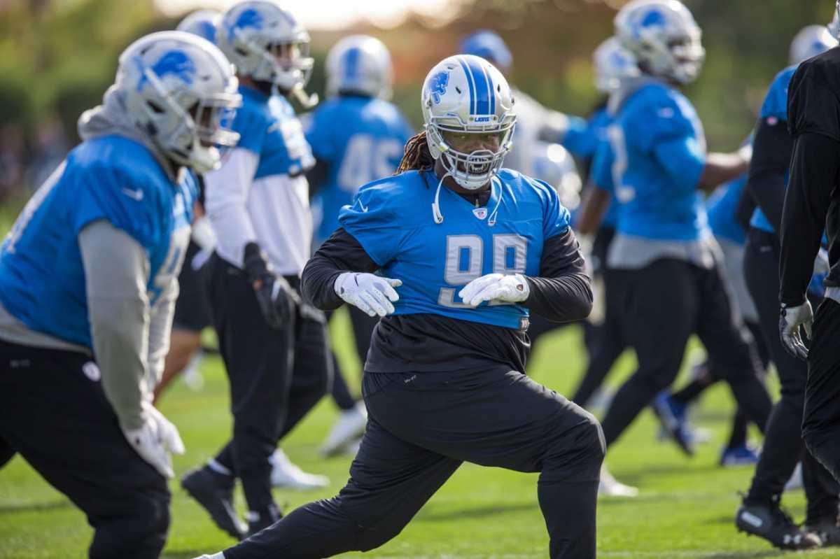 Damon Harrison, Detroit Lions