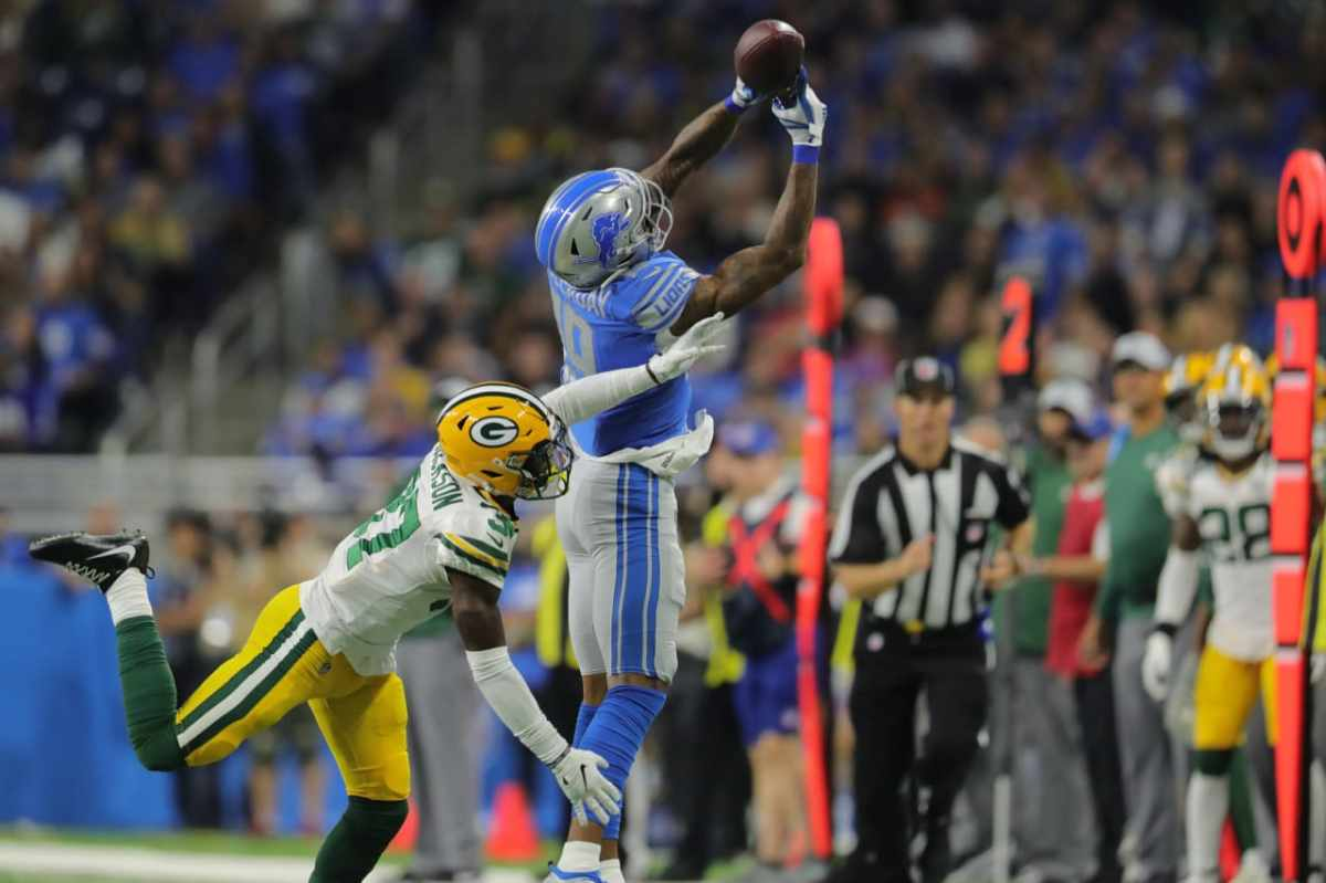 Lions WR Kenny Golladay comes up big  in NFC North win overPackers