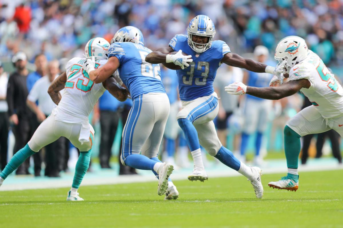 Five reasons the Detroit Lions beat the Dolphins, 32-21, at Miami