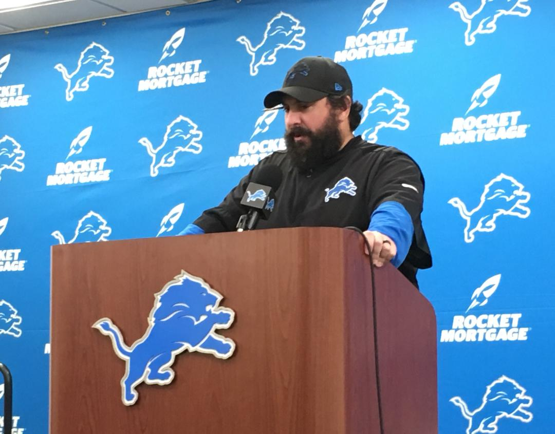 Lions Matt Patricia explains why he declined penalty; 2 plays later Dolphins scored