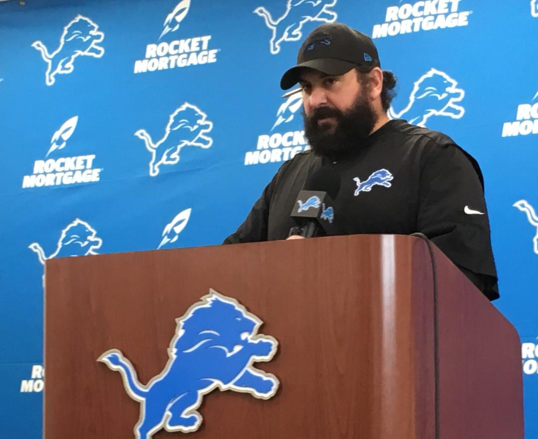 Lions Matt Patricia offers insights on Golden Tate trade, moving forward