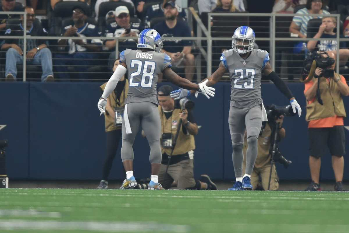 Don't count out Lions Quandre Diggs against the Packers