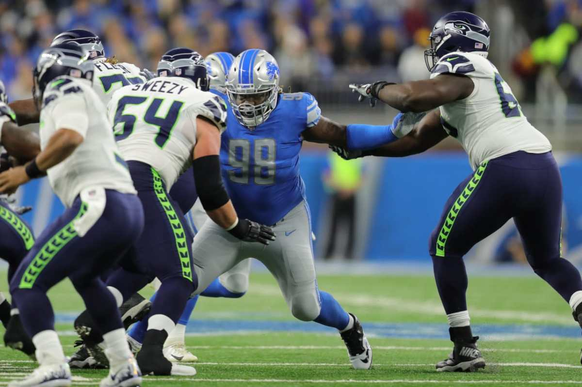 Lions' Damon Harrison one of few highlights in loss to Seahawks
