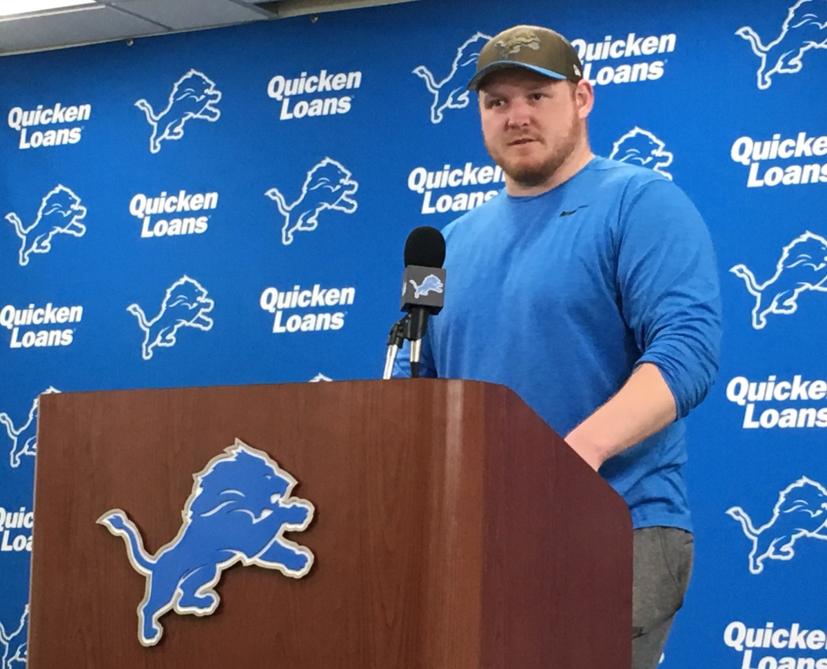 Detroit Lions' guard T.J. Lang seeks advice from concussionspecialists