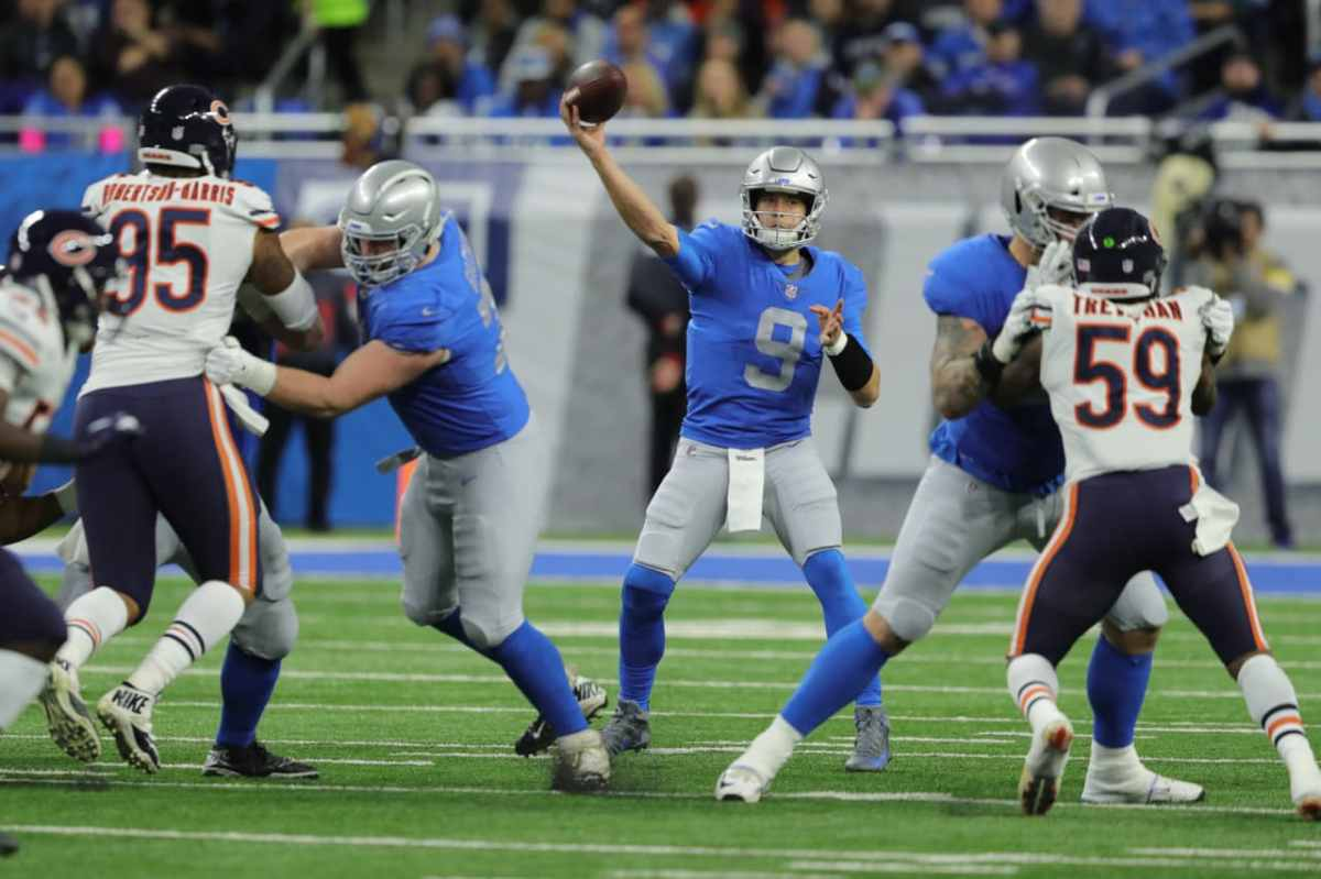 Five reasons the Detroit Lions wasted a perfect chance to defeat ChicagoBears