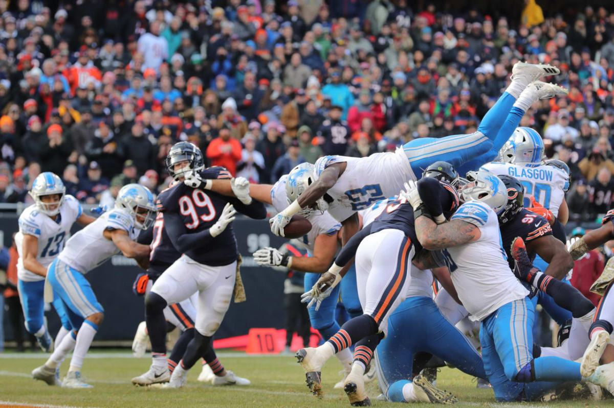Five things to watch as Detroit Lions face the Chicago Bears on Thanksgiving