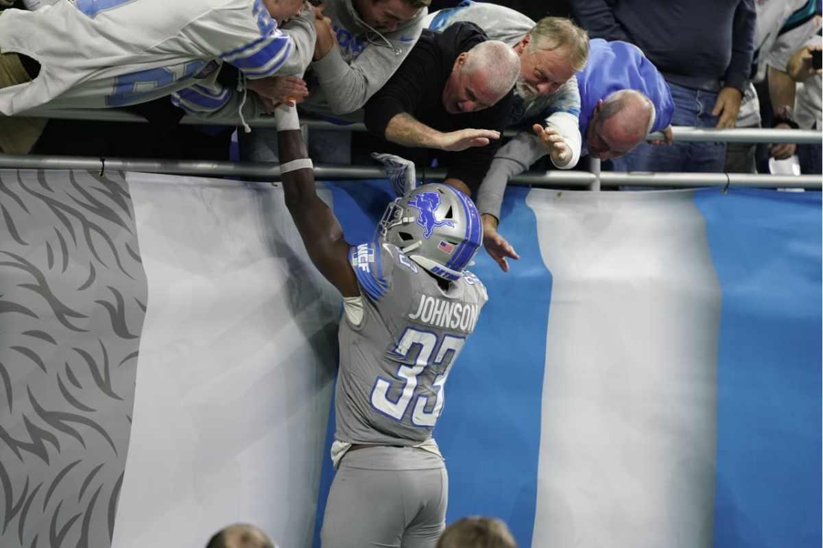 Five reasons the Detroit Lions beat Carolina Panthers,20-19