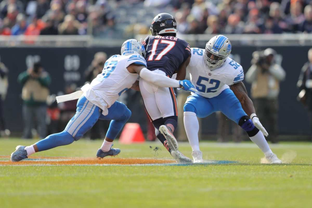 Lions play poorly in 34-22 loss at Chicago: Five key reasons they lost third straight