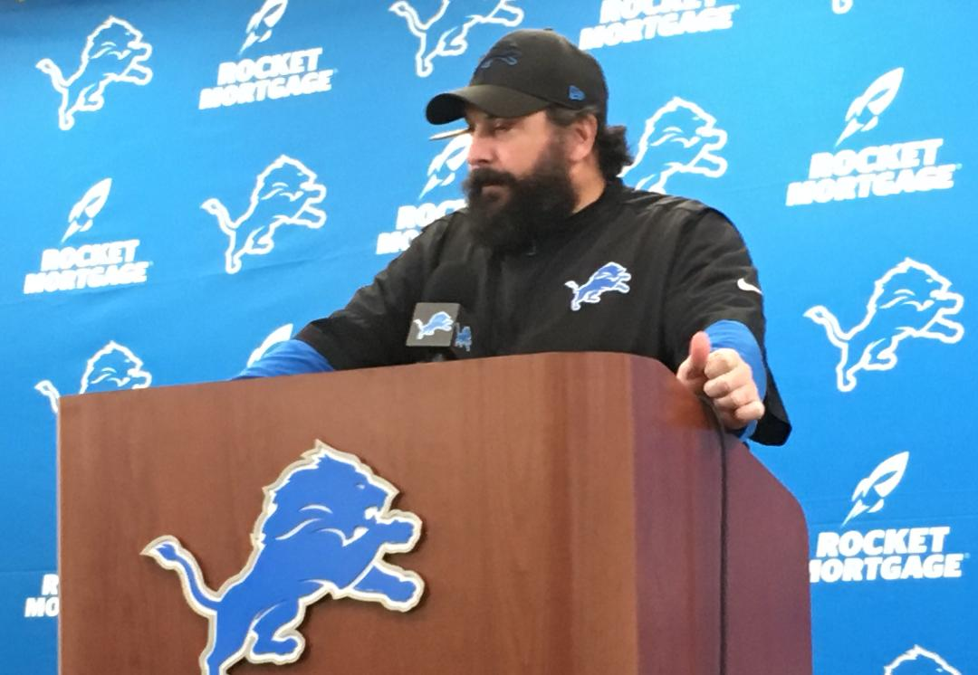 Detroit Lions Matt Patricia, Jim Bob Cooter defend Matthew Stafford