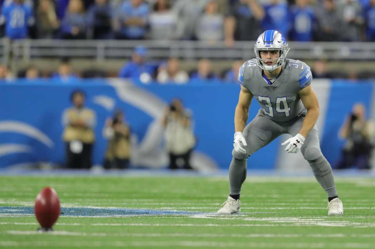 Detroit Lions could lean on Zach Zenner in Thanksgiving game vs.Bears