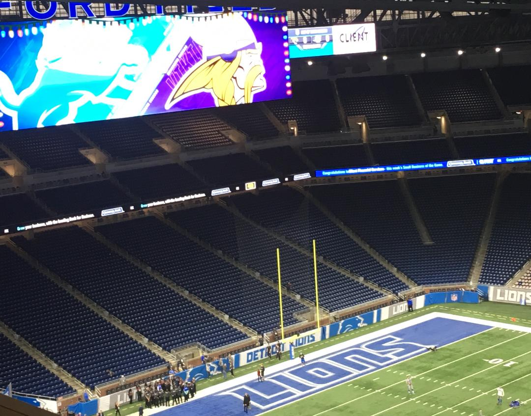 Detroit Lions: No surprises among inactives; Treadwell out for Vikings