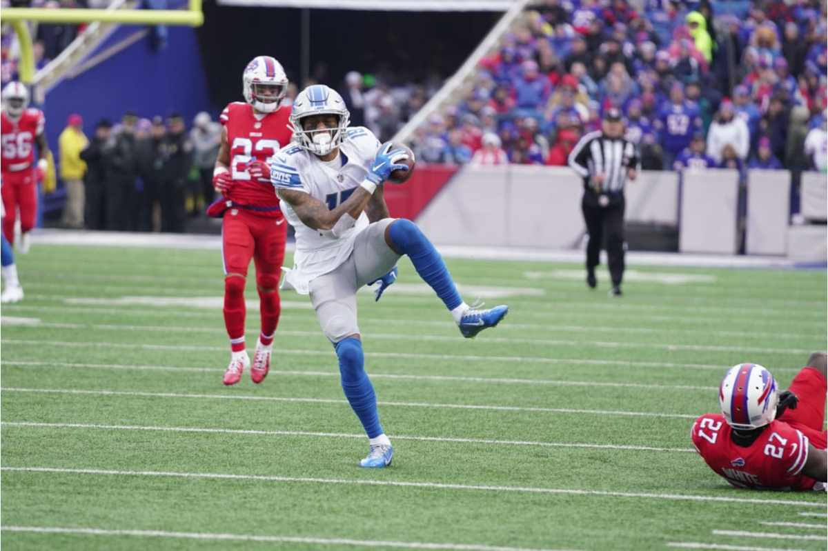 Five things to know about Lions WR Kenny Golladay after his career game