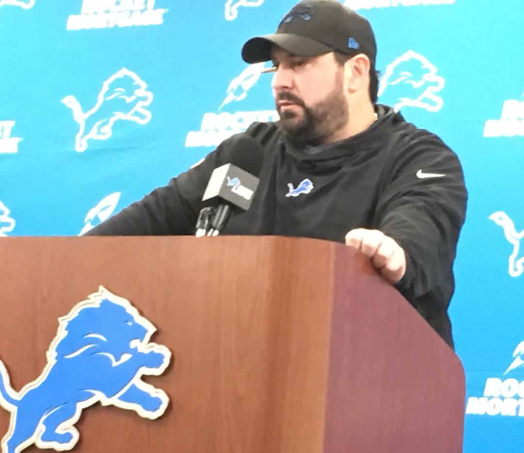 Lions T.J. Lang said team went through 'drastic' change with Matt Patricia
