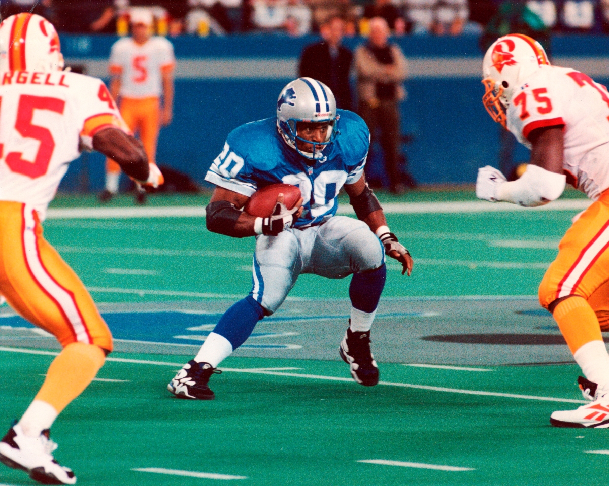Thirty years ago today the Detroit Lions drafted Barry Sanders third overall