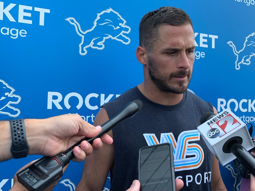 Detroit Lions wide receiver Danny Amendola