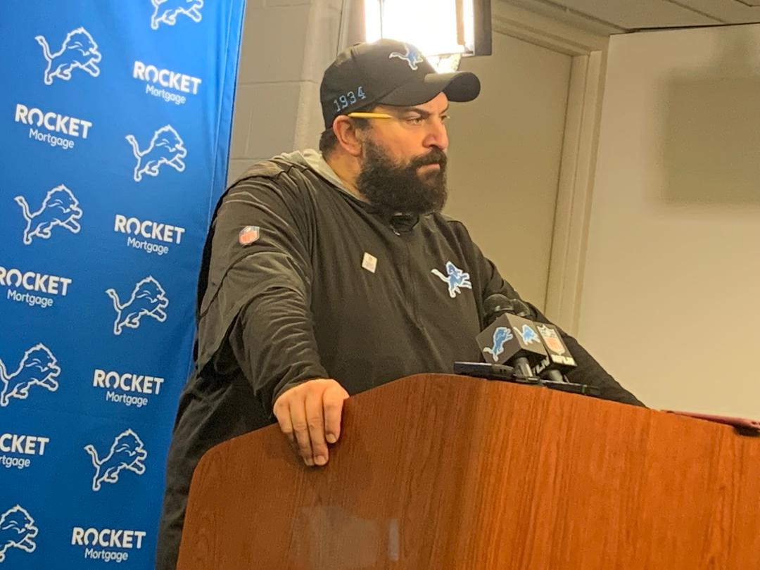 Lions' Matt Patricia forges on; focuses on final 2 games not his future in Detroit
