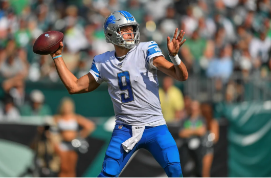 Detroit Lions QB Matthew Stafford has found recent success at Green Bay