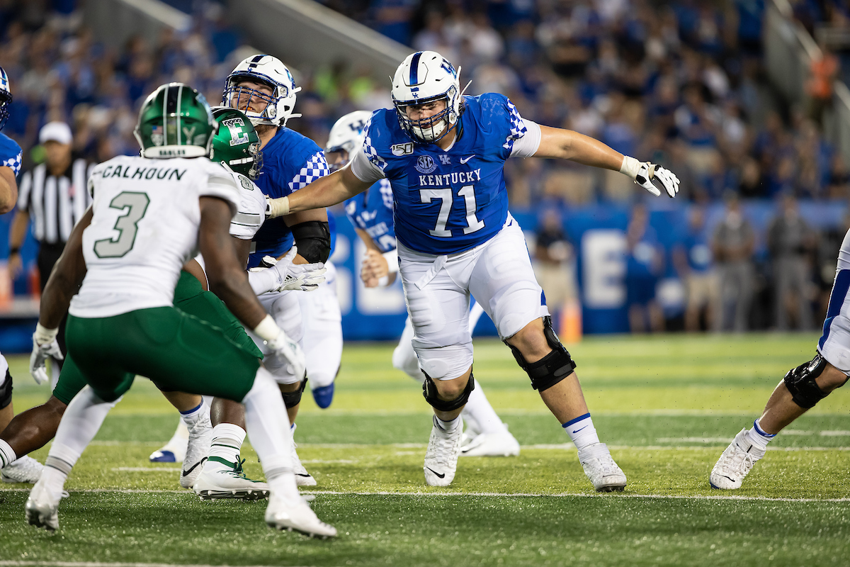 Detroit Lions draft guard Logan Stenberg in fourth round, out of Kentucky