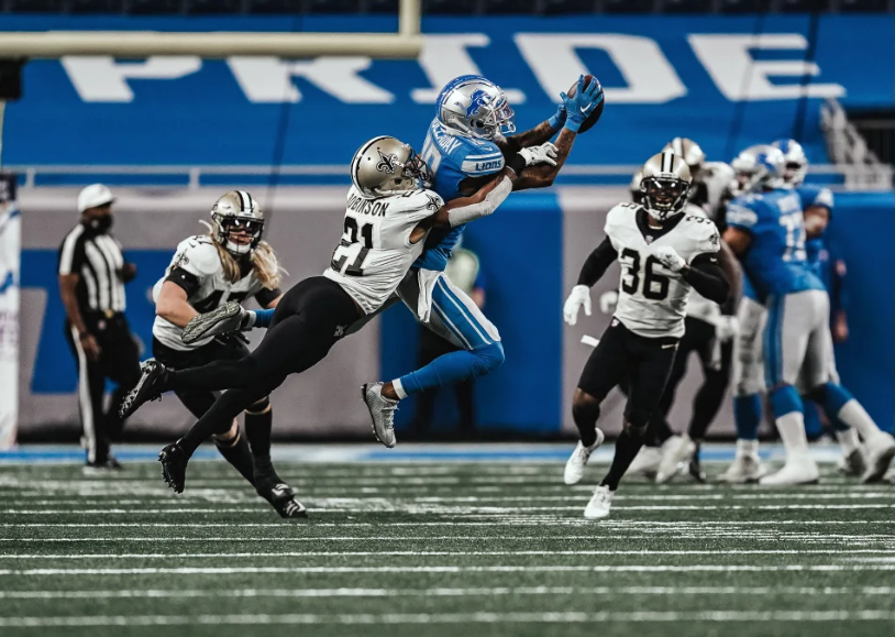 Detroit Lions wide receiver Kenny Golladay